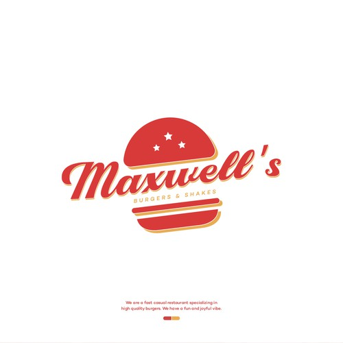 Brand Identity for Maxwell's Burgers and Shakes