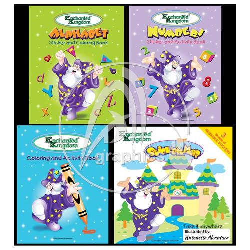Enchanted Kingdom Book set