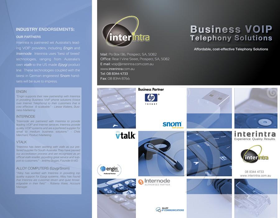 brochure design for Interintra