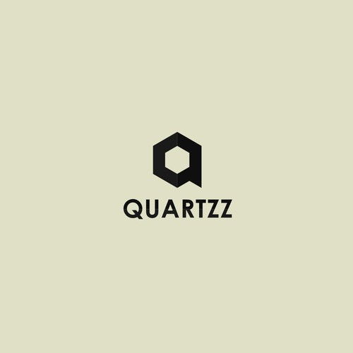 Create a captivating and sleek logo design for Quartzz