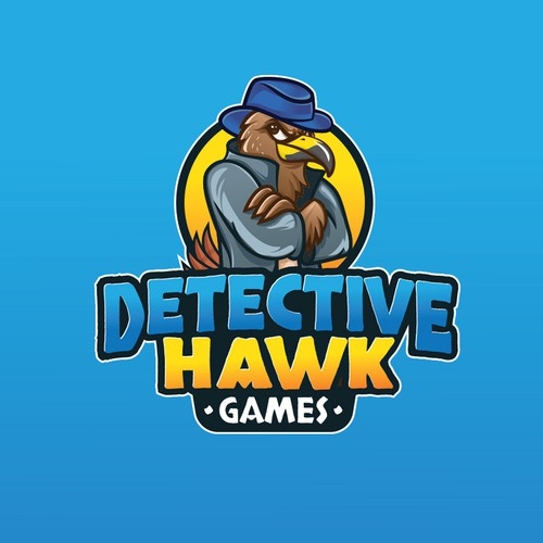 designs concept for hawk detective games