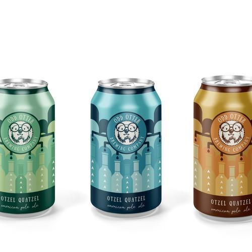 Modern beer can design