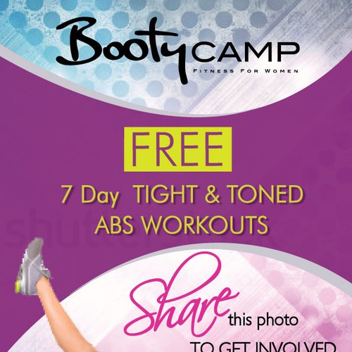 Fitness Camp Workout Flyer