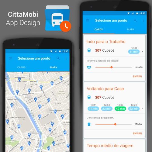 CittaMobi, urban mobility app