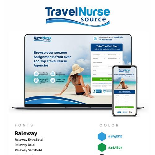 Landing Page- Travel Nurse Source