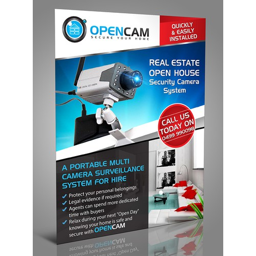 Opencam needs a new postcard or flyer