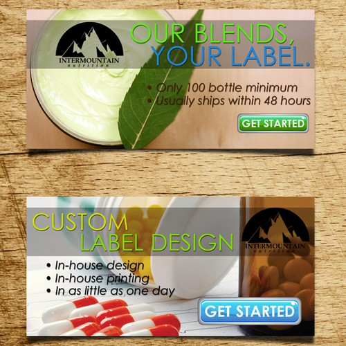 New banner ad wanted for Intermountain Nutrition
