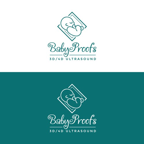 Logo for Baby Proofs 3D/4D Ultrasound