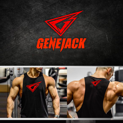 Strong and bold logo required for a company in bodybuilding industry