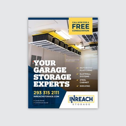 InReach Storage Magazine Ad