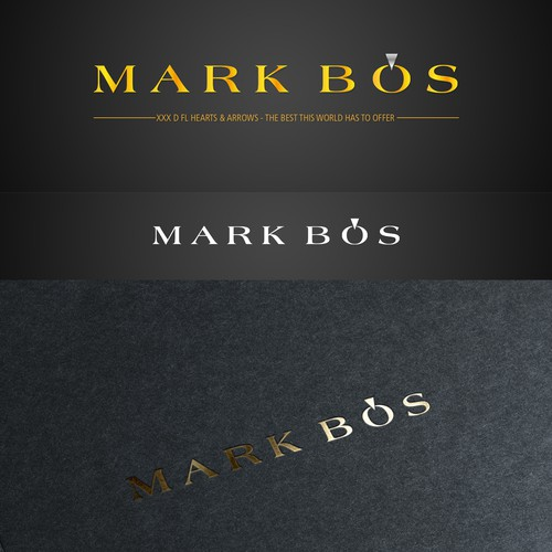Create a luxurious logo for an exclusive jewelry brand