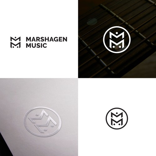 Logo for music production company.