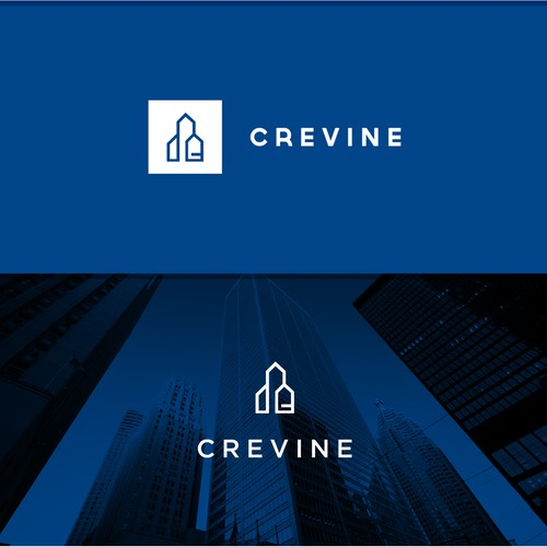 Brand identity commercial real estate promotion.