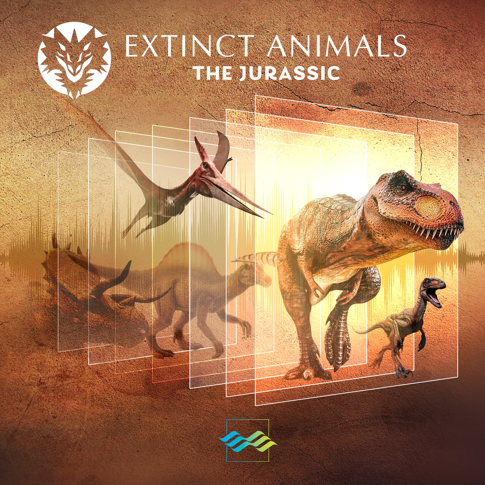 Unique Sound Library of 'Extinct Animals' needs a Polished Visual Cover!