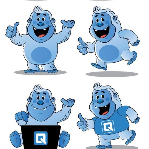 Quip yeti mascot