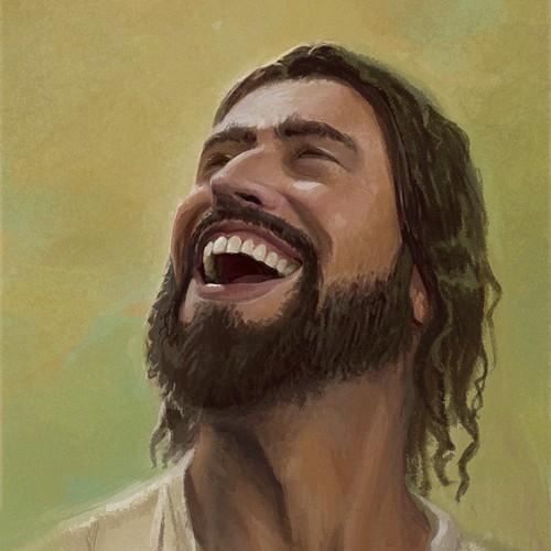 Jesus Laughing