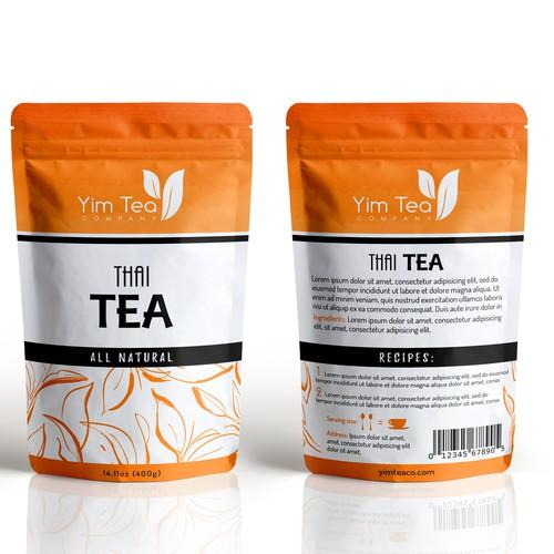 All-Natural Thai Tea Brand