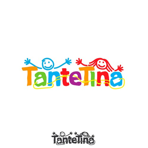 Tante Tina Kids Logo for online shop