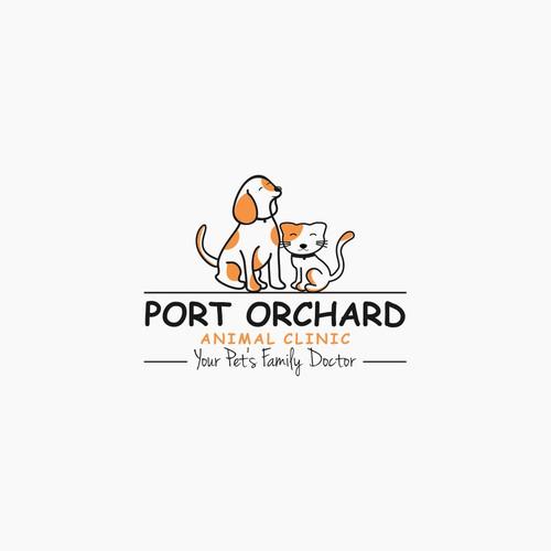 Artistic animal lovers needed for veterinary logo