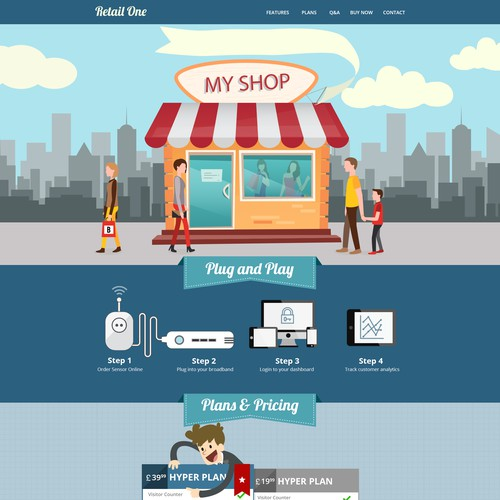 Website for next generation of retail analytics