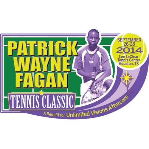 Patrick Wayne Fagan Tennis Classic Logo/Design