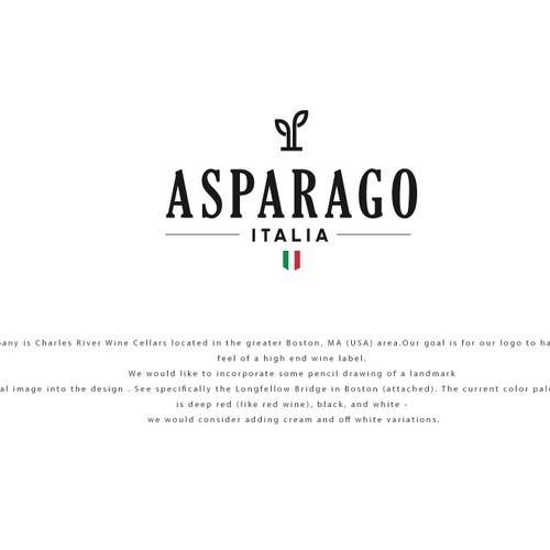 Logo for Asparago Italia