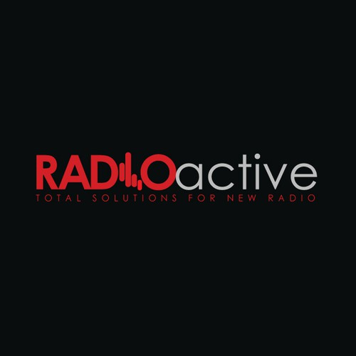 Radioactive station logo