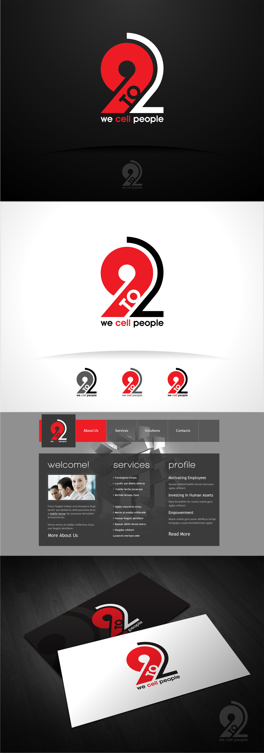 """Create the next logo for """"9 TO 2"""""""