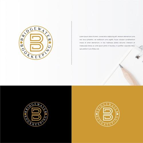 Simple Logo For Bridgewater BookKeeping
