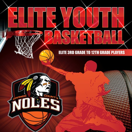Youth Basketball Marketing Flyer