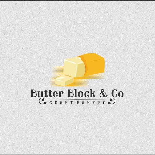 croissant butter logo