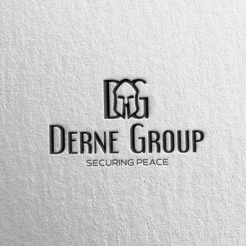 Logo concept for security firm