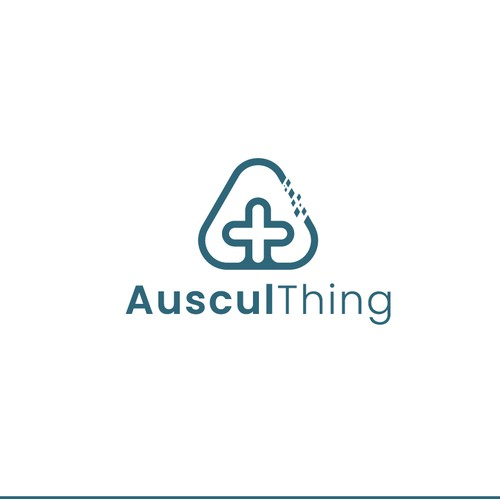 Auscul Thing logo concept