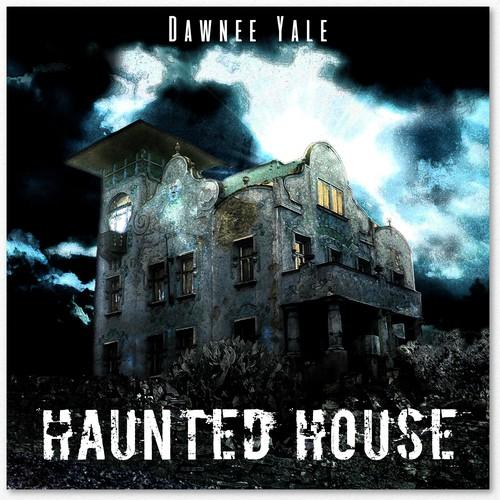 CD/EP cover, soft horror, dark fantasy