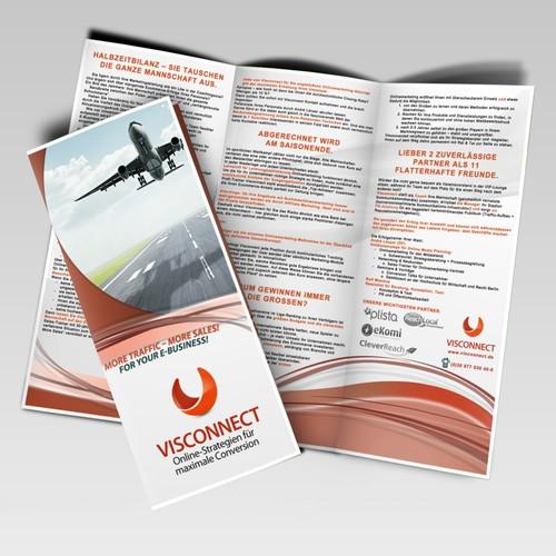 Onlinestrategien für den Mittelstand benötigt brochure design