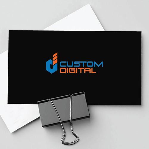 Custom Digital Logo Entries