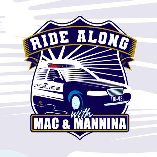 Logo for a live, virtual, investigative series