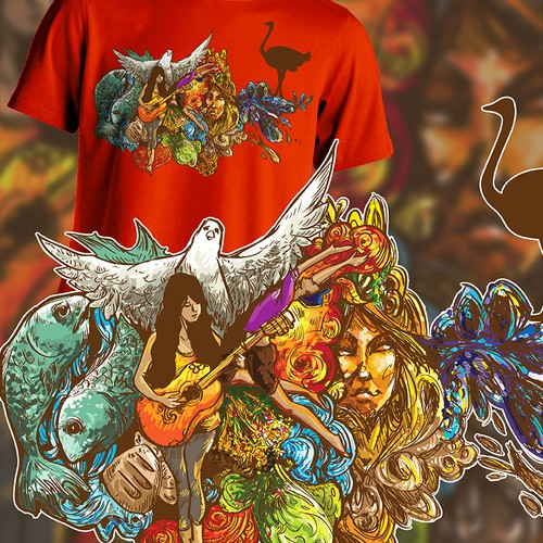 Design a Another Bad Ass Tee for The Chivery