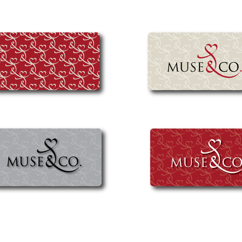 logo and business card for Muse&Co.