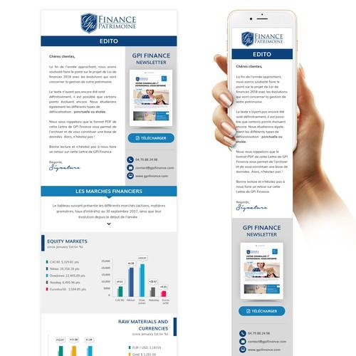 Email Design for GPI Finance