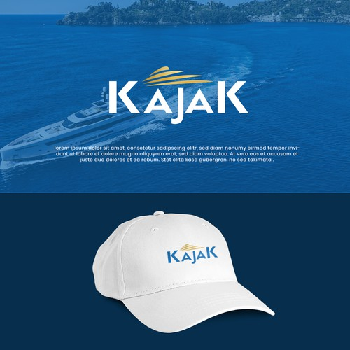 This is a logo for a YACHT