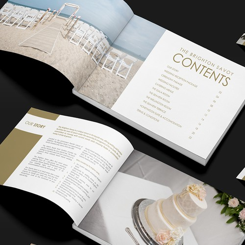 Wedding Brochure - Redesign Premium Melbourne Wedding Venue/Hotel