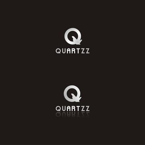 Create a captivating and sleek logo design for Quartzz