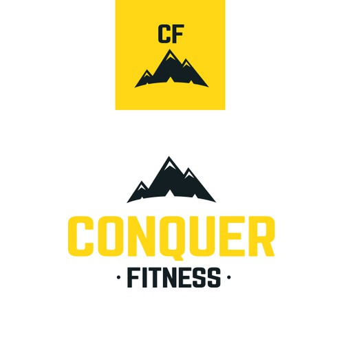 Symbolic logo for fitness brand