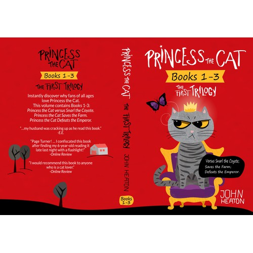 Princess The Cat Book Cover