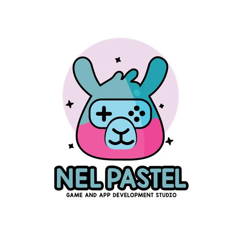 (For Sale ) Contest Entry - Game Logo (pastel colour)