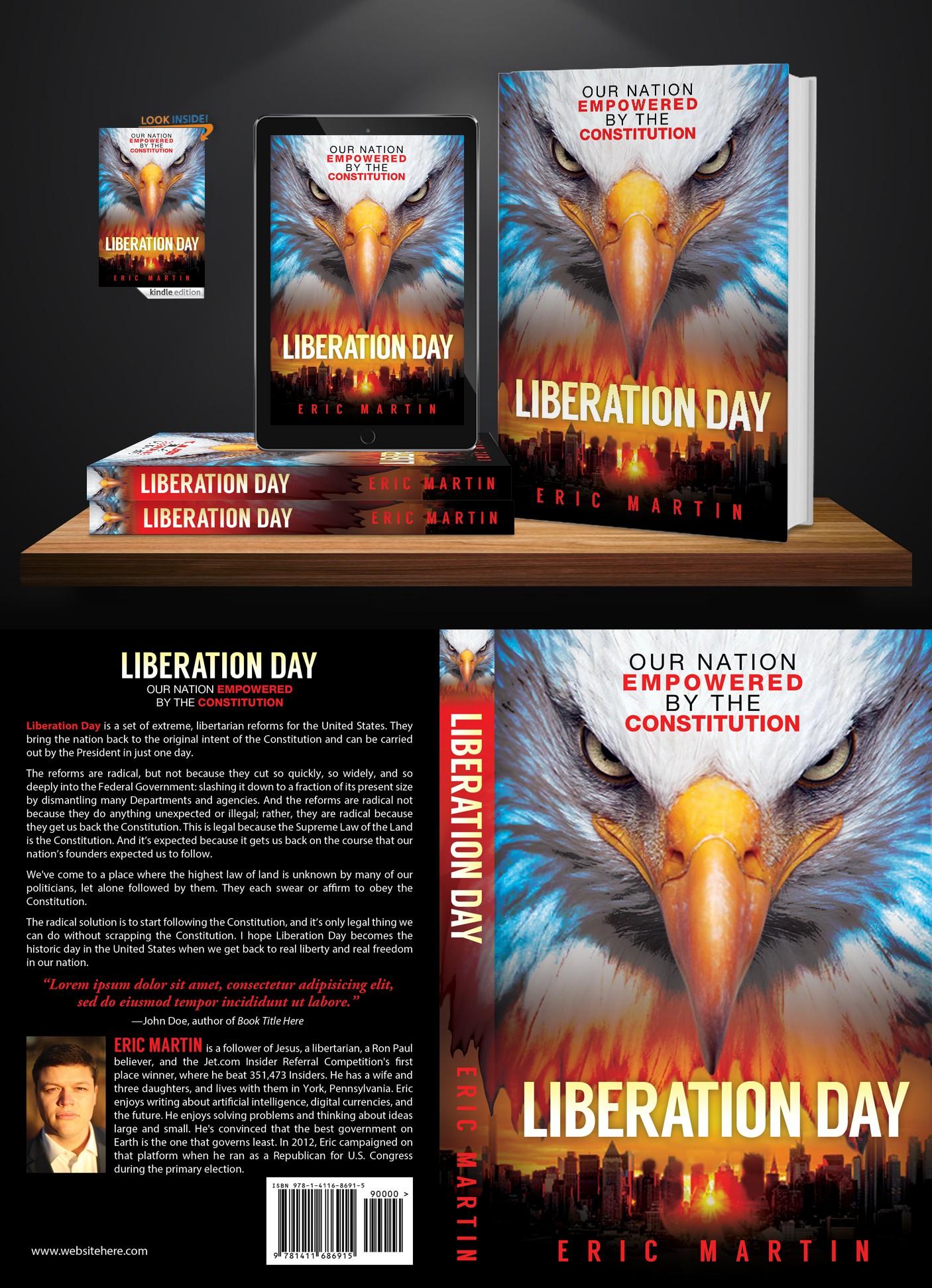 Libertarian Book Needs Eye Catching Cover