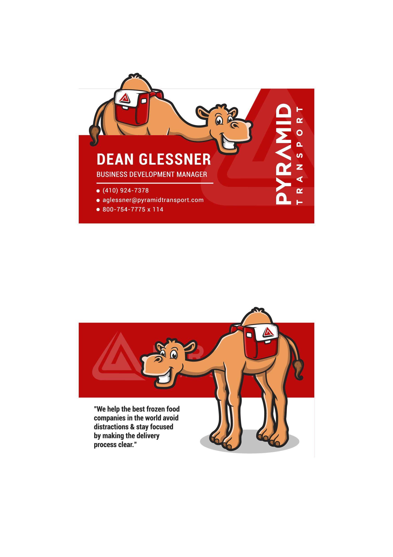 Camel Business Cards