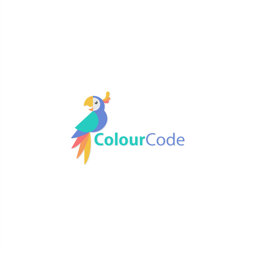 Concept for ColourCode logo project.