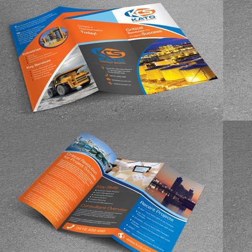 Tri-Fold Brochure for KCS